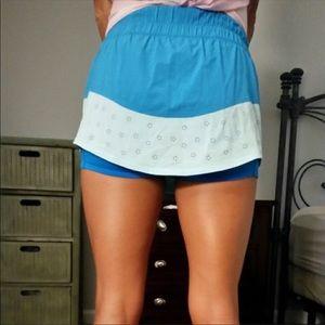 Lululemon Final Lap Skirt With Biker Shorts Size 4